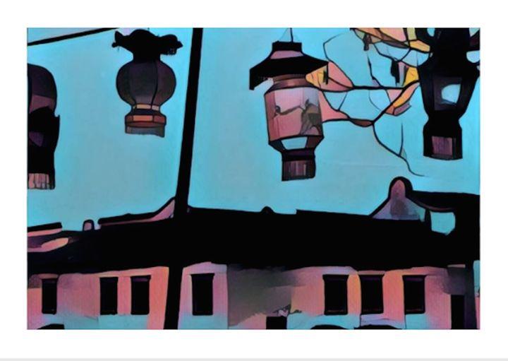 Pastel Lanterns - EMD Art