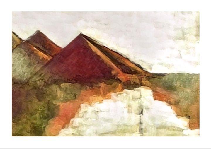 Muted Mountains - EMD Art