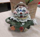Ceramic Clown Teapot