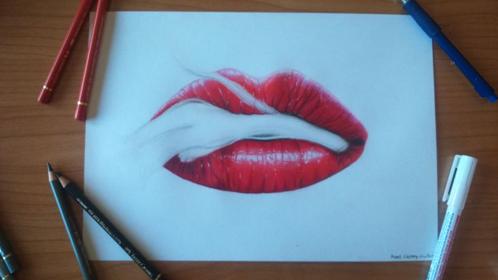 Smoking Lips - Miquel CastanyCrivillers
