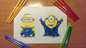 Minions Drawing