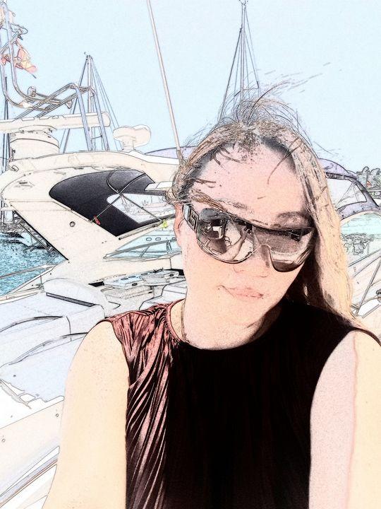《Boat and wind》 - HaiyanWang