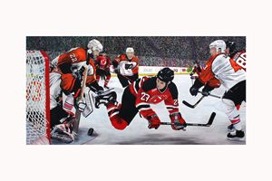 Flyers vs. Devils
