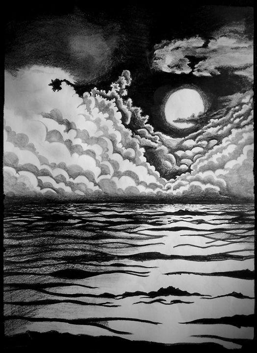 Moon Sea - Debayan Moitra