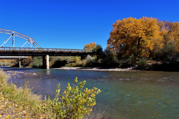 Animas River Bridge - Shelly Boren Photography