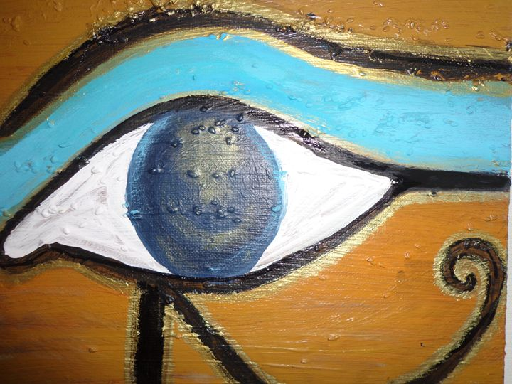 Egypt Art Horus Eye - Elf'Art