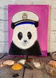 Panda wear wearing a hat
