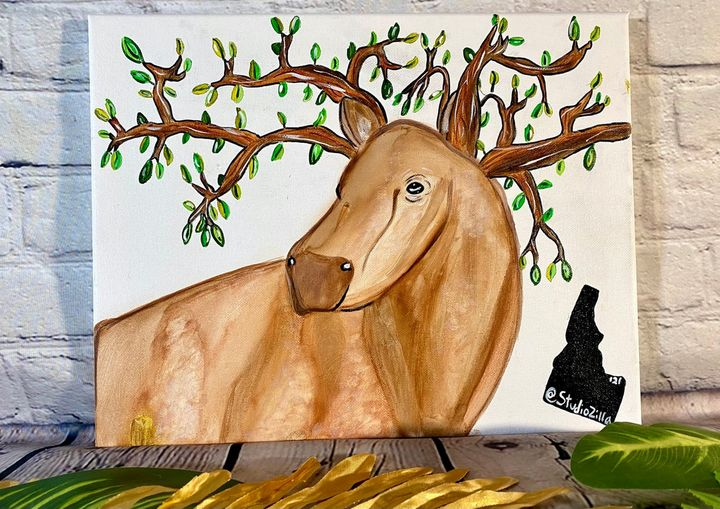 The balance of Nature and Beast - StudioZilla Art