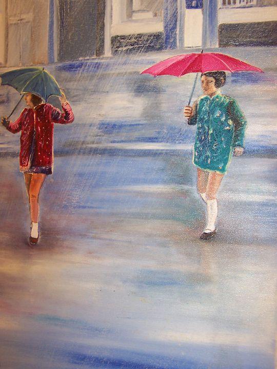 'GLASGOW GIRLS' - Iona McLean artist