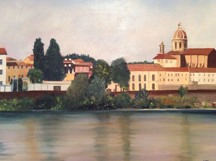 Florence, Italy - Iona McLean artist