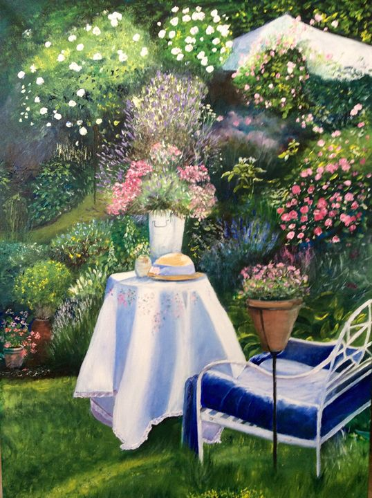 The Rose Garden - Iona McLean artist