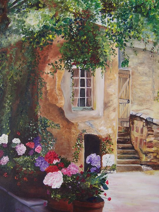 'A Place in Provence' - Iona McLean artist