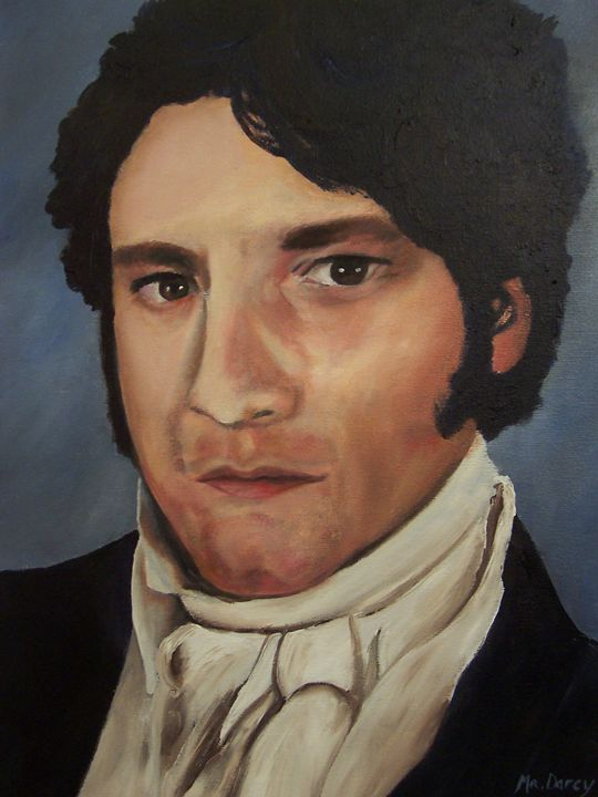 mr.Darcy - Iona McLean artist
