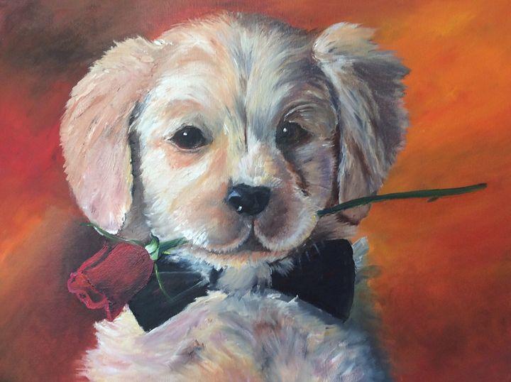 Doggy Love - Iona McLean artist