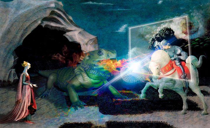 Saint Georges et le Dragon numérique - Philippe Cadet