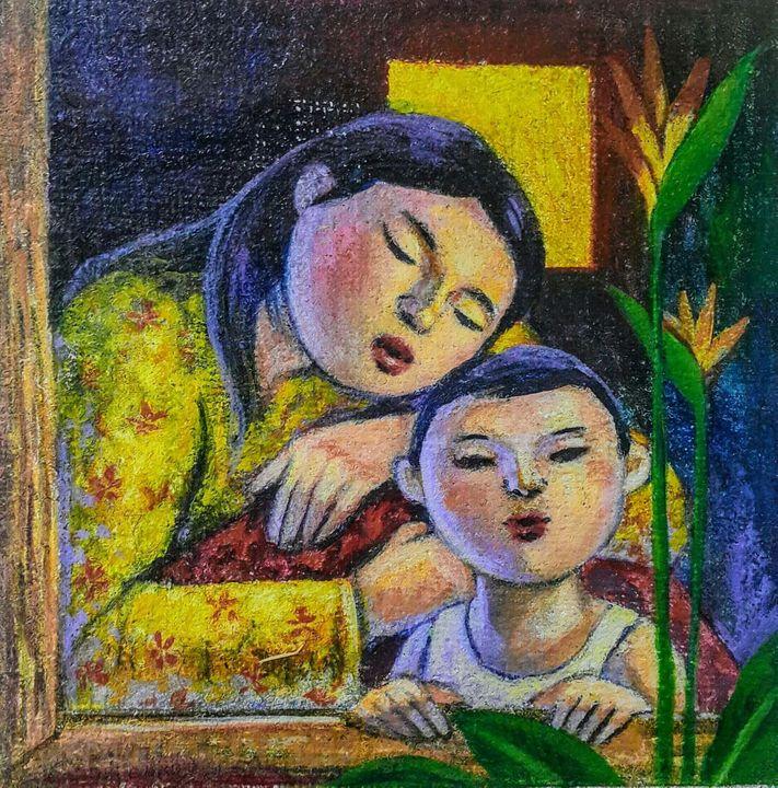 Guardian Angel - 守护 - Penjagaku - Winner's Art Gallery
