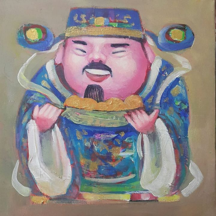 Treasure - 宝 - Harta - Winner's Art Gallery