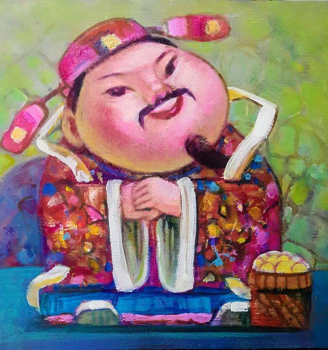 Wealth - 财 - Kekayaan - Winner's Art Gallery