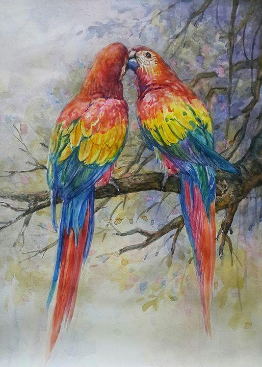 Sweet love - 浓情蜜意 - Cinta sayang - Winner's Art Gallery