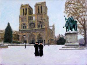 Hiver A Notre Dame