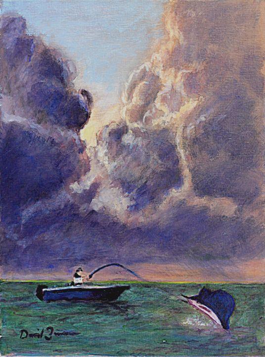 A Fight to the Death - David Zimmerman Fine Art