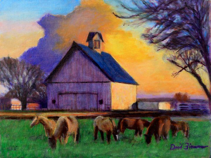 Hurry Sundown - David Zimmerman Fine Art