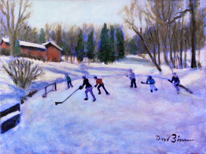 Pond Rockets - David Zimmerman Fine Art
