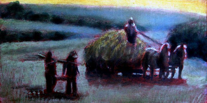 The gloaming - David Zimmerman Fine Art