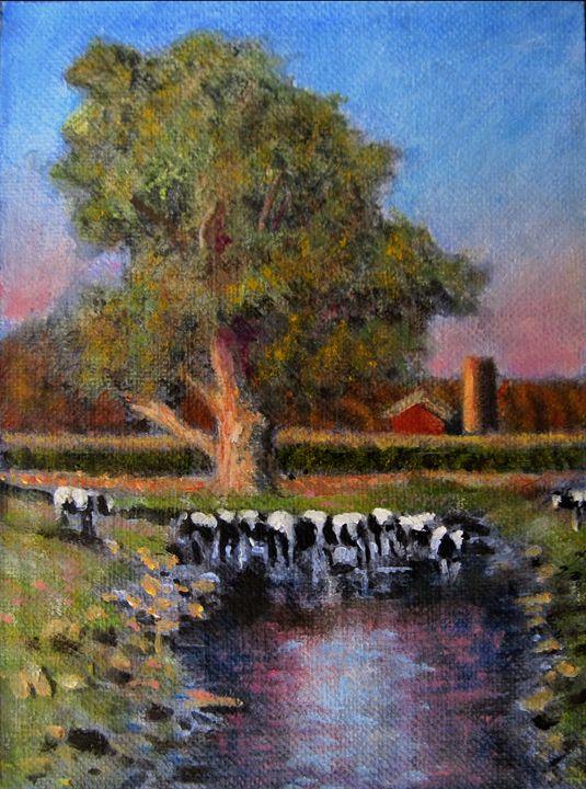 The Mikvah - David Zimmerman Fine Art