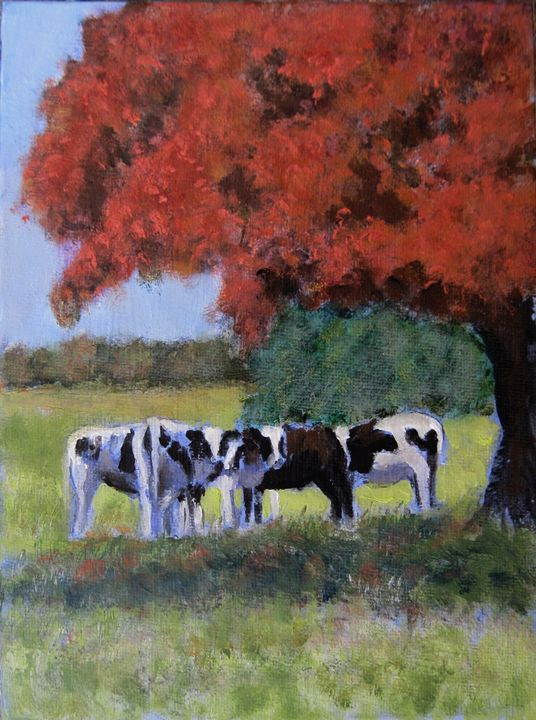 Under the Spreading Chestnut Tree - David Zimmerman Fine Art