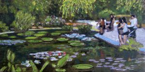 Sundays in the PArk With George - David Zimmerman Fine Art