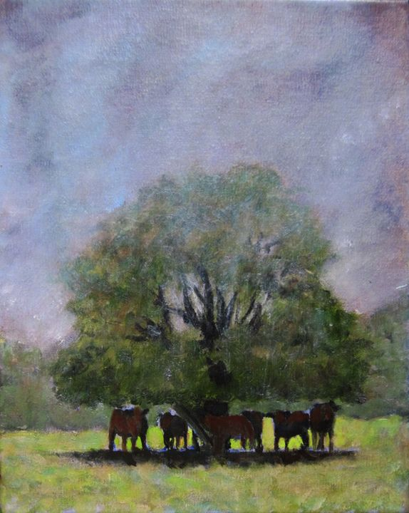 Shelter From The Storm - David Zimmerman Fine Art