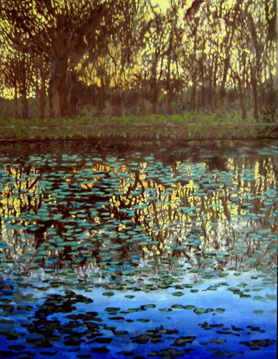 Pools of Light - David Zimmerman Fine Art