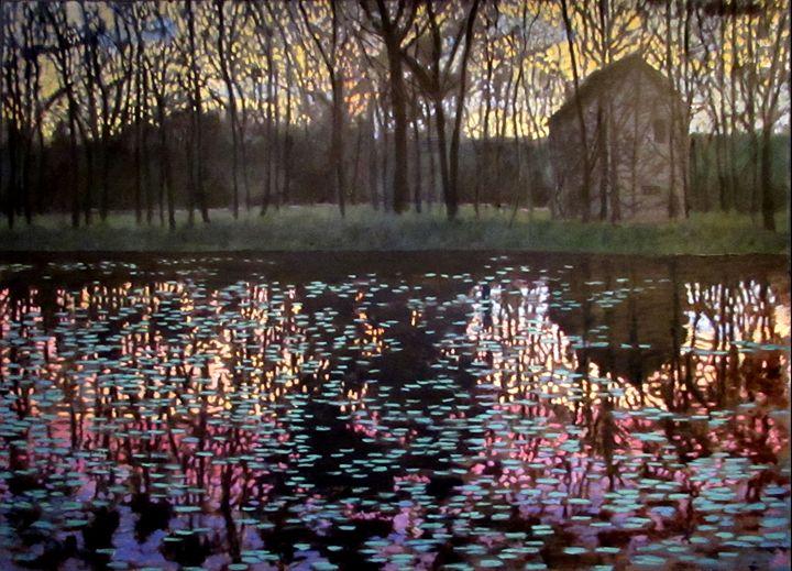 Smoke on the Water - David Zimmerman Fine Art