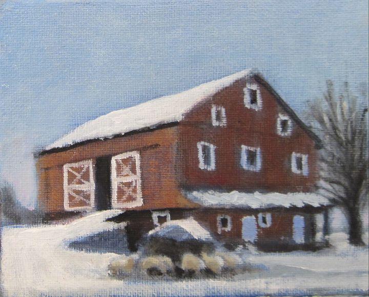 A Winter's Tale - David Zimmerman Fine Art