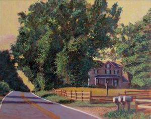 The Road To Friendship - David Zimmerman Fine Art