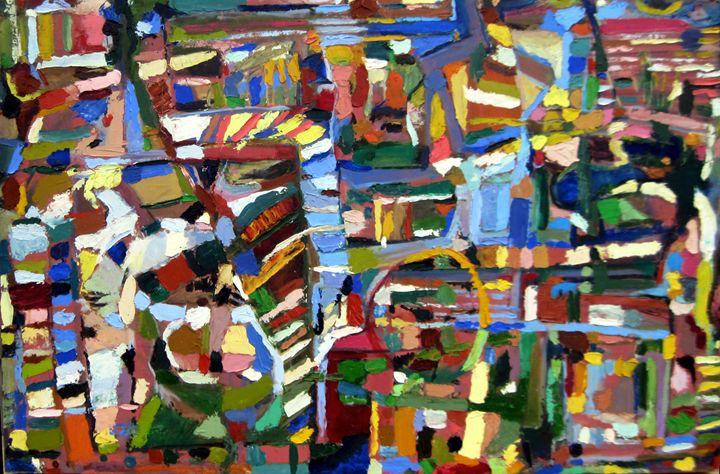 Chutes and Ladders - David Zimmerman Fine Art