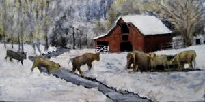 Up on Cripple Creek - David Zimmerman Fine Art