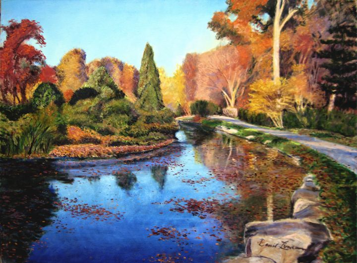 Brookside Gardens - David Zimmerman Fine Art