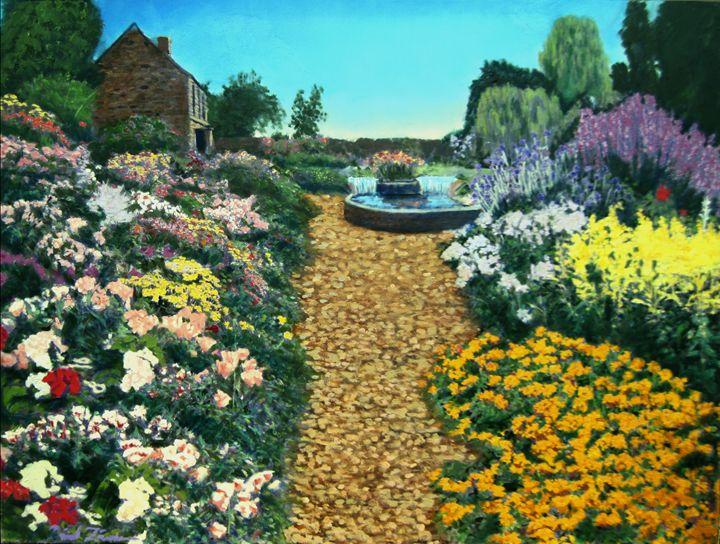 Secret garden - David Zimmerman Fine Art