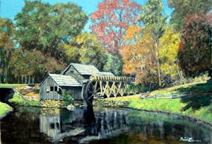 Mabry Mill - David Zimmerman Fine Art