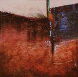 Abstract & mixed media painting