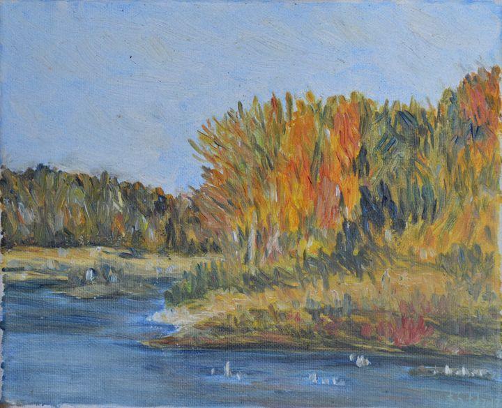 Riverside scenery - lin