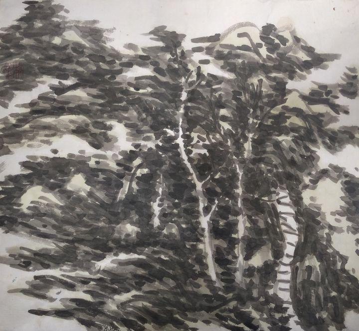 Ink landscape - lin
