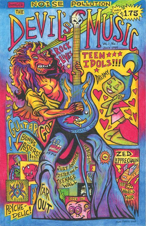 Devil's Music - Russ Farris Art