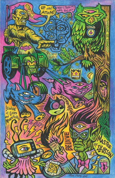 Master of Illusion - Russ Farris Art