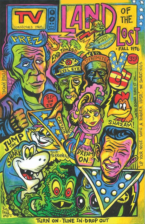 TV Land of the Lost - Russ Farris Art