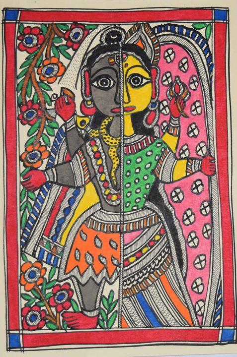 ART064-Beautiful-Painting-of-Shivji- - Artkaari