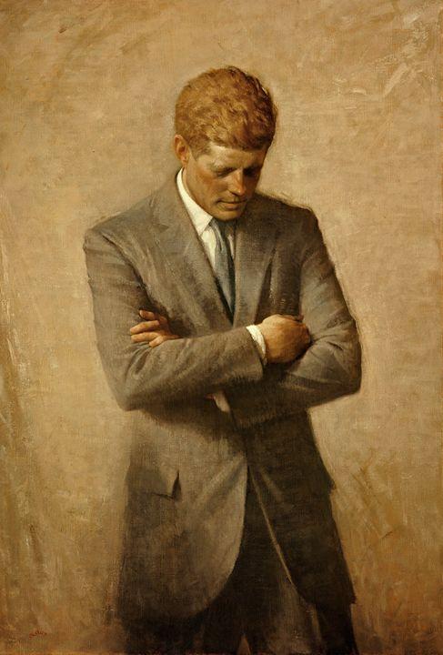 President John F. Kennedy - David Dehner