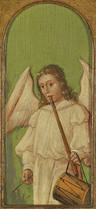 15th Century Angel Painting 4 - David Dehner